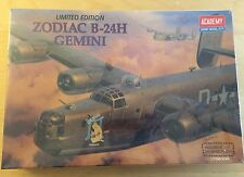 Academy Limited Edition Zodiac B-24H GEMINI - 1/72 Scale Model Kit - BRAND NEW
