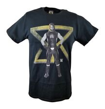 Seth Rollins SR Logo WWE Mens Black T-shirt