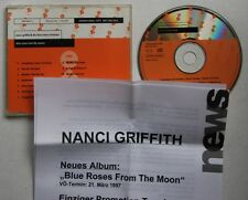 Nancy Griffith Blue roses from the-le général ADV CD + rp-sheet