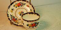 Royal Albert  Rose Marie Hand Painted TEACUP / CUP SAUCER  England bone china
