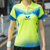 New Outdoor sports women's Tops tennis/badminton Clothes Only T shirts
