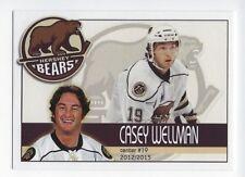 2012-13 Hershey Bears (AHL) Casey Wellman (Kärpät)