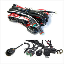 2 Lead DC14V Car Off-Road LED Working Light Bar Wire Harness ON/OFF Switch Cable