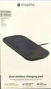 Mophie Dual Wireless Charging Pad - New - Sealed