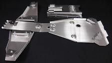 YAMAHA RAPTOR 700 FULL FRAME SKID PLATE & A-ARM GUARDS .190 & SWINGARM SKID.190