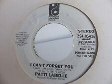 PATTI LABELLE I can't forget you / ZS4 05436 PROMO MONO