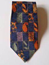 JOSEPH ABBEY tie Montreal NWT new 45 retail value silk floral designer navy blue