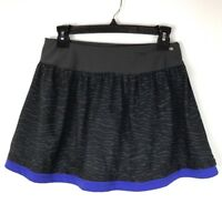 Lucy Women's Skirt Lucypower Skort Tennis Golf Running Dark Gray Blue Size XS