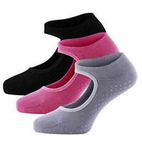 Indoor Yoga Socks For Women Non Slip Socks with Grips Barre Socks Pilates Socks.