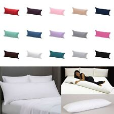 Non-Allergenic Bolster Pillow with Case Long Body Support Orthopedic Pregnancy
