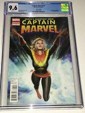 Captain Marvel #1 Adi Granov Variant CGC 9.6 NM+ White Pages Marvel 2012 1:25