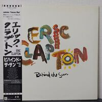 ERIC CLAPTON BEHIND THE SUN DUCK P-13069 Japan OBI VINYL LP