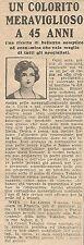W8292 Crema TOKALON colorito meraviglioso a 45 anni - Pubblicità del 1926 - Ad