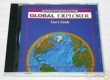 Delorme Mapping Global Explorer Software Cd-Rom, Jewel Case, and User's Manual