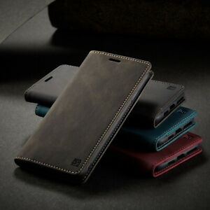Leather iPhone 11 Pro 6 7 8 Plus Xs Max Xr Flip Wallet Card Case Stand Cover