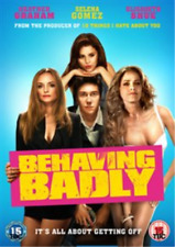 Selena Gomez, Nat Wolff-Behaving Badly  (UK IMPORT)  DVD NEW