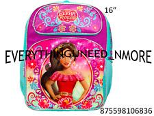 "ELENA AVALOR Large School Backpack 16"" 6386"