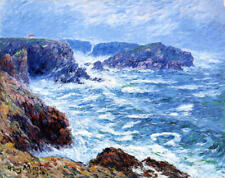 Canvas Painting Print Henry Moret Seascape Waves Home Decor Wall Art CANVAS 8x10