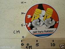 STICKER,DECAL DAF PARTS RUILDELEN LARGE