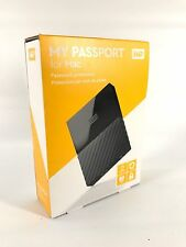WESTERN DIGITAL MY PASSPORT FOR MAC 2TB PORTABLE USB HARD DRIVE BRAND NEW