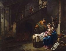 """high quality oil painting handpainted on canvas """" Nativity""""@N6891"""