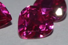 A Single Gorgeous 6mm IF Heart Cut Genuine Red Ruby