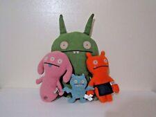 Ugly Doll Poe Green Bat Monster, Wage, Peaco, & Gund (Keychain)