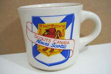 Rare Scouts Canada Nova Scotia Coffee Tea Mug Cup Made In England
