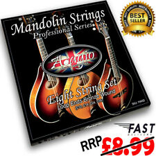 Mandolin String Set - By Adagio Pro - With Loop Ends