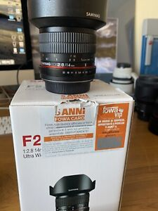 samyang 14mm f2.8 ED AS IF UMC For Canon Ef