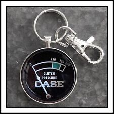 Case Tractor Clutch Pressure Gauge Photo Keychain Father's Day Gift 🎁
