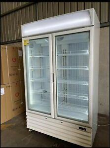 EURO EU-890FZW 890LT LED LIGHT COMMERCIAL UPRIGHT DISPLAY FREEZER GLASS DOOR