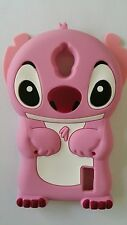 ES- PHONECASEONLINE COVER SILICONE STITCH PINK PER HUAWEI Y625