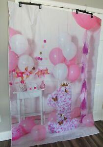 AOFOTO 5x7ft Sweet Baby Cake Smash 1st Birthday Party Photography Studio Backdro