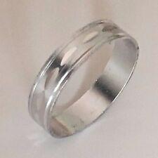Ring * Modeschmuck * Aluring * silber * 17 mm