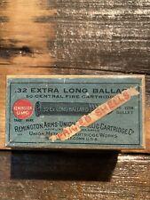 Rare Winchester Ammo Box 2pc! 32 Ballard Extra Long 1880's - Free Gift