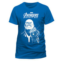 OFFICIAL  Avengers  Blue Thanos T Shirt Infinity War Marvel S M L
