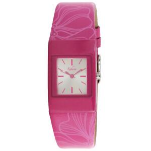 Brand New Ladies Pink Flower Strap Kahuna Watch AKLS-0168L