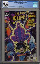 ADVENTURES OF SUPERMAN #512 - CGC 9.6 - PARASITE - 1994/19 DC LABEL - 0360344002