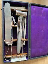 Antique WW1 Medical surgical surgeon field kit - 1914-1918 - Militaria - RARE
