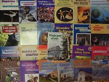Senderos 5th Grade Below Level 5  Houghton Mifflin Vocabulary Spanish 25 Books
