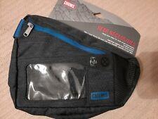 Chums Bear Necessities Sport Waist Pack/Phone Case/Hip Pack (Blue/Navy) ~ New