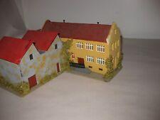 Vintage Faller #214 Germany HO Train Rairoad Building Station Marklin Village