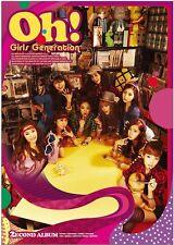 Girls' Generation SNSD 2nd album OH! Vol.2 :CD+Photobook+Photocard New Original