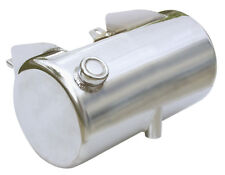 Ultima 3.5 Chrome Plated Side Fill Round Oil Tank for Wide Softail Frames