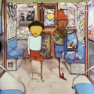 """Os Gemeos poster 24""""x24"""" street art obey Revok graffiti Kaws mcgee Espo Moma Nyc"""