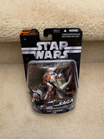 "STAR WARS Clone Commander Cody 3.75"" ACTION FIGURE SAGA Collection Hasbro"