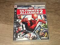 Marvel Ultimate Alliance 2 Spider-Man PlayStation 3 PS3 Complete CIB Authentic