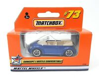 Matchbox MBX Superfast 1999 No 73 VW New Beetle Convertible clear window frame