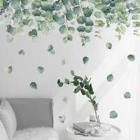 Foliage Leaves Botanical Kids Wall Stickers Nursery Decor Decal Art Mural Gift